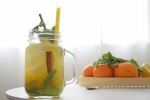 Sinaasappel kaneel citroen munt